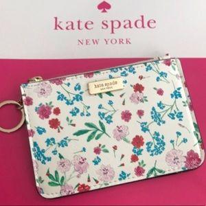 Kate Spade Bitsy flowered card case